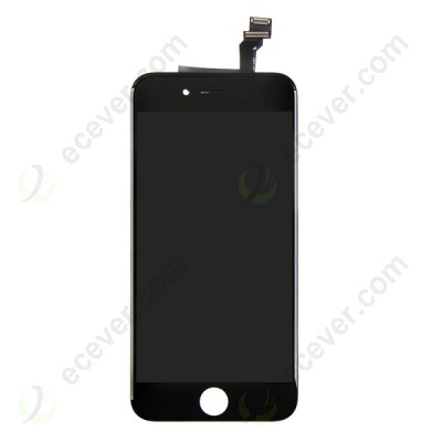Black for iPhone 6 LCD Screen Touch Digitizer Assembly