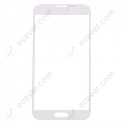 White Front Glass Lens For Samsung Galaxy S5 SM G900T G900V G900P G900 G900R4 G900A G900F