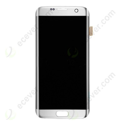 Silver For Samsung Galaxy S7 Edge G935 G935F G935A G935V G935P G935T G935R4 G935W8 LCD Digitizer Assembly