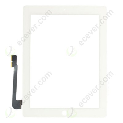 iPad 3 Digitizer Touch Screen White