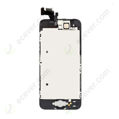 Complete Front LCD Screen with Small Parts for iPhone 5 Black