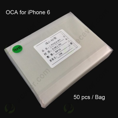 50pcs/bag Optically Clear Adhesive OCA for iPhone 6