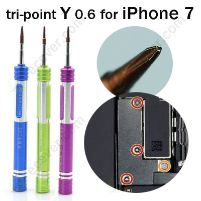tri-point Y screwdriver for iPhone 7