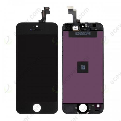 Generic LCD Screen Display Touch Panel for iPhone 5S Black
