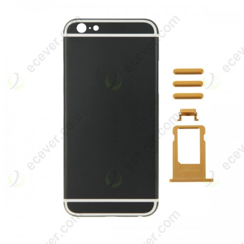 Back Cover Housing for iPhone 6S Black