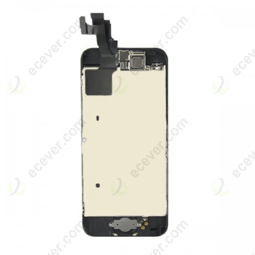 for iPhone 5C LCD Screen Digitizer Touch Panel with Home Button Camera