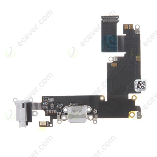 iPhone 6 Plus charging port flex cable light gray