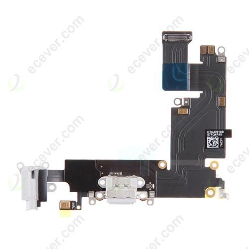 iPhone 6 Plus charging port flex cable white