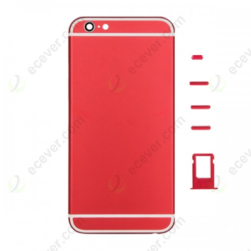 Back Cover Housing for iPhone 6S Red