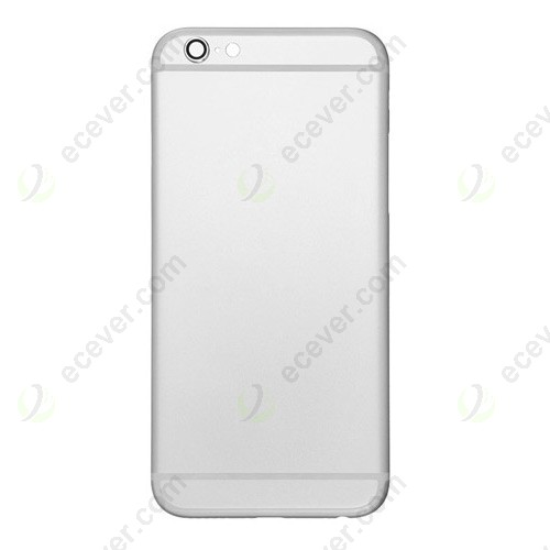 Silver Back Cover for iPhone 6S Plus 5.5 inch