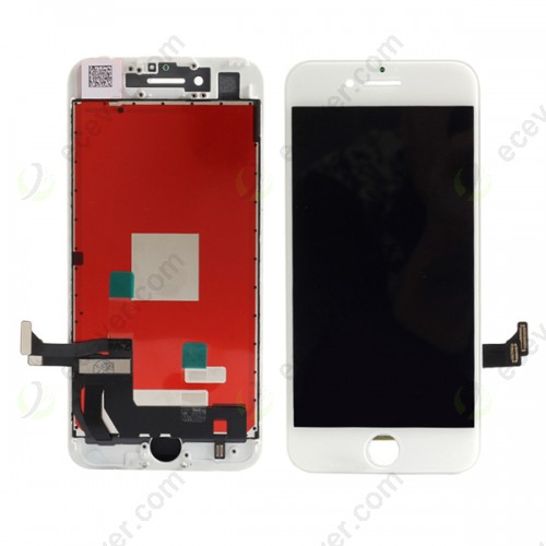 White for iPhone 7 LCD Screen Touch Digitizer Assembly