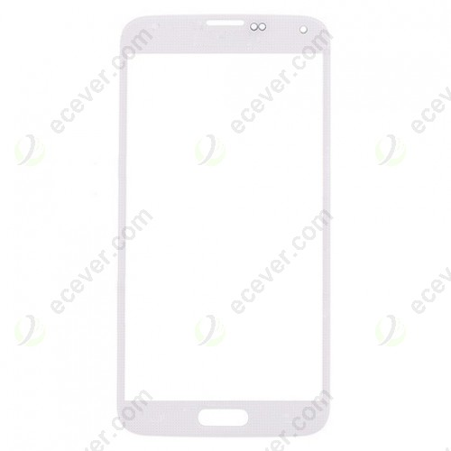 White Front Glass Lens For Samsung Galaxy S5 SM G900T G900V G900P G900 G900R4 G900A G900F