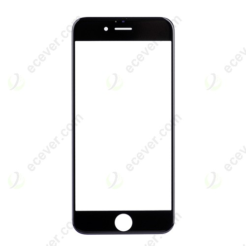 Black Front Glass Lens for iPhone 6S