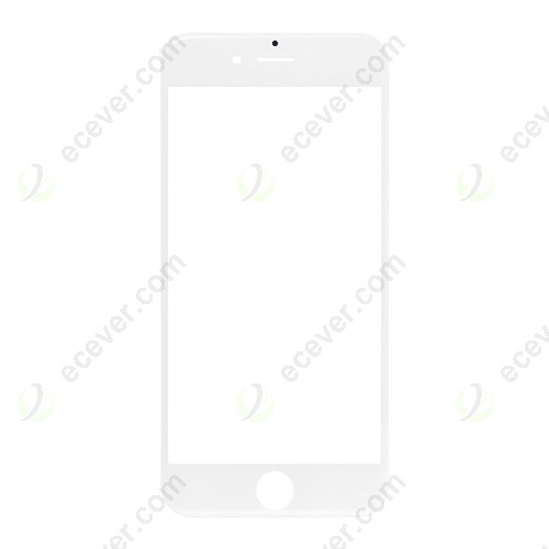 White  Front Glass Lens for iPhone 6S