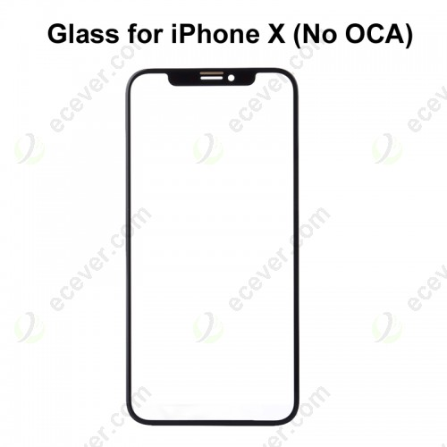 Front Glass for iPhone X Replacement