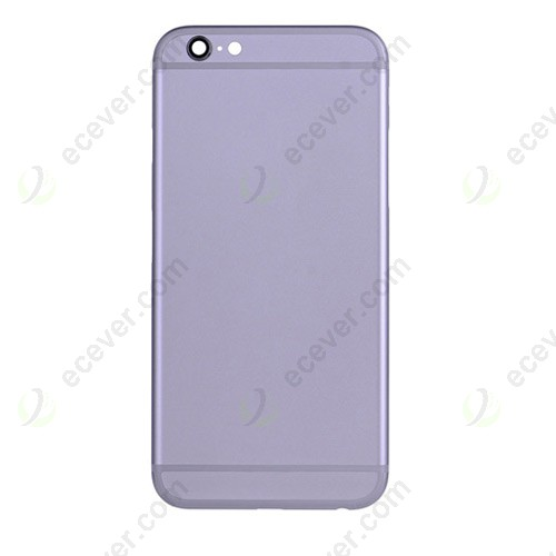 Gray Back Cover for iPhone 6S Plus 5.5 inch