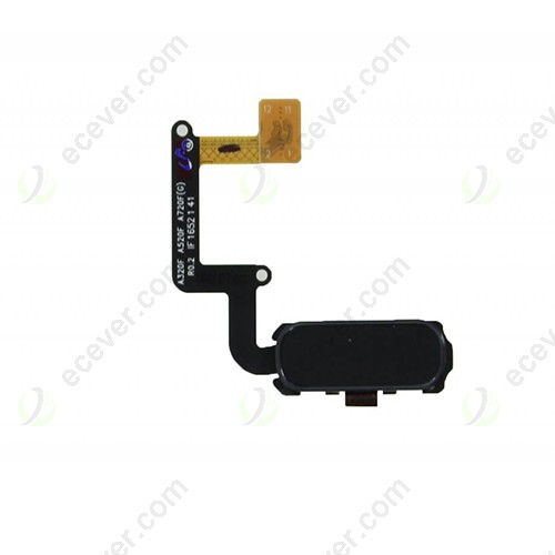 Home Button Flex Cable for Samsung Galaxy A720 Black