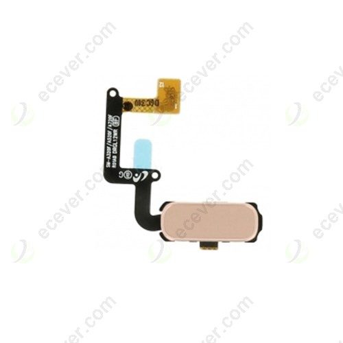 Home Button Flex Cable for Samsung Galaxy A720 Pink