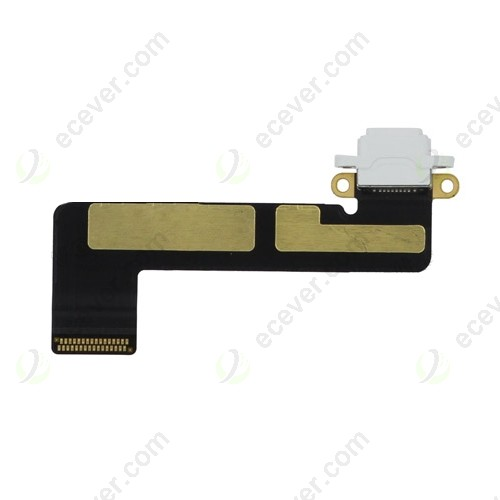 OEM iPad Mimi Charging Port Flex Cable White