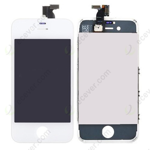 iPhone 4S LCD Screen Digitizer Assembly Replacement White