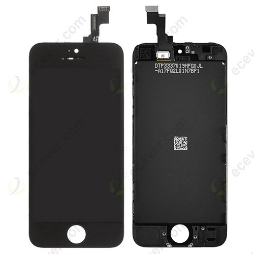 iPhone 5S LCD Screen Touch Digitizer Assembly black