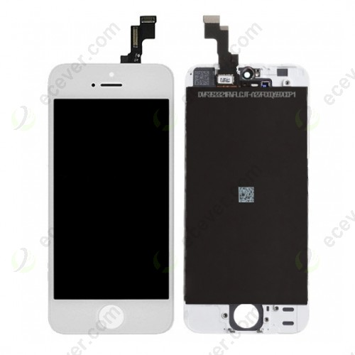 LCD Screen for iPhone 5S White