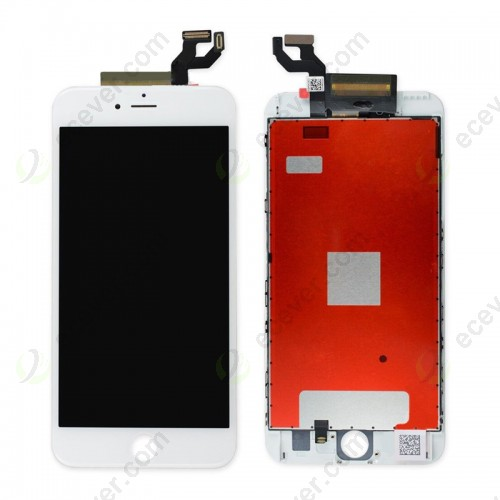 OEM LCD Screen Digitizer with Touch Glass Assembly for iPhone 6S Plus white