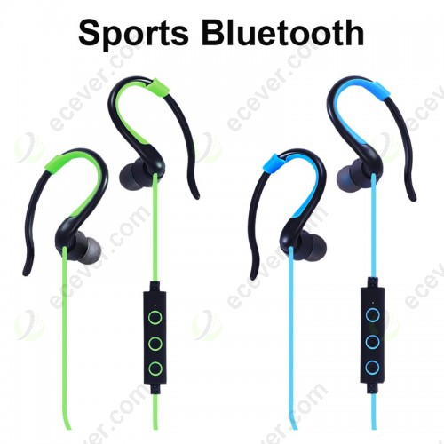 Sports Bluetooth Earphone Headphone Hands Free with Mic for iPhone Samsung Sony LG