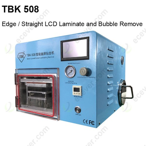 TBK 508 Smart Curved edge Screen Laminating Machine with Bubble Removing
