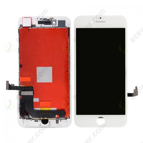 White China Made AUO TianMa iPhone 7 Plus LCD Screen Display Touch Panel Replacement