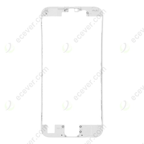 White Front Middle Frame Bezel for iPhone 6S