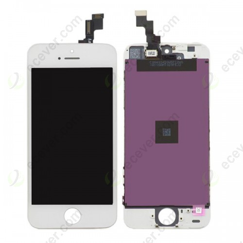 LCD Display Touch Screen for iPhone 5S White