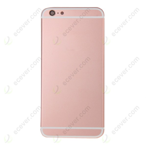 rose gold for iphone 6 back cover housing. Black Bedroom Furniture Sets. Home Design Ideas