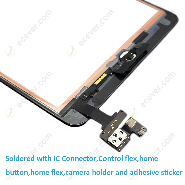 For Ipad Mini Digitizer Touch Screen With Ic Connector