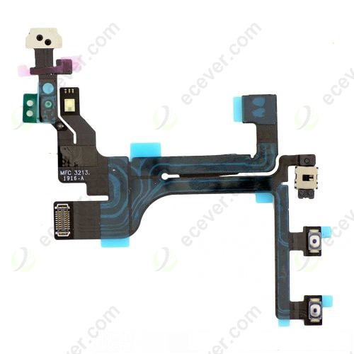 5c Control Cable : Oem iphone c power volume button flex cable ribbon