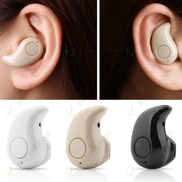 Concealed Wireless Bluetooth Mini Earphone Headset With