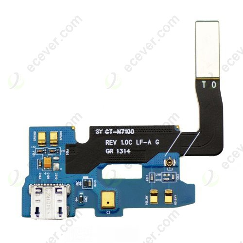 oem for samsung galaxy note 2 n7100 dock connector charging port flex cable ribbon
