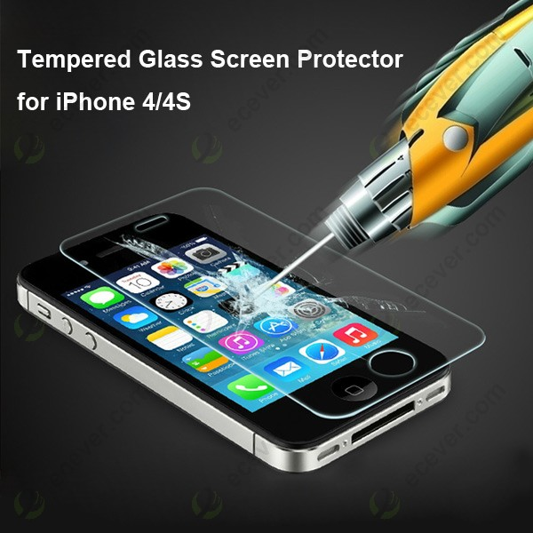 how to put tempered glass on iphone 4s