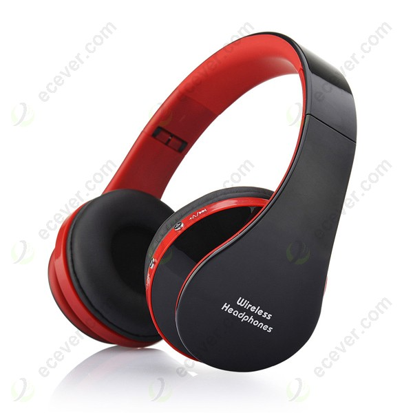 fashion foldable wireless bluetooth headphone headset with mic for cellphone. Black Bedroom Furniture Sets. Home Design Ideas