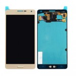Gold LCD Display Touch Screen Assembly for Samsung Galaxy A7