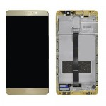 LCD Screen Touch Digitizer Assembly with Frame for Huawei Mate 9 Gold