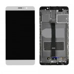 LCD Screen Touch Digitizer Assembly with Frame for Huawei Mate 9 White