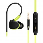 Outdoor Sports Earphone Headset with Remote Mic for iPhone iPad iPod Sony HTC LG Mobile Phones
