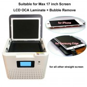17 inch OCA LCD Laminate Bubble Remove Machine for iPad Tablet Mobile Phone