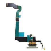 Gray Charging Port Flex Cable for iPhone X