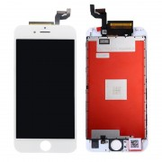 (Assembled Flex) LCD Screen Touch Glass Panel for iPhone 6S White - Cold Press