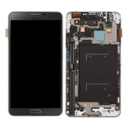 (4G version) LCD Screen Touch Digitizer with Front Housing Frame Assembly For Samsung Galaxy Note 3 N9005 Black