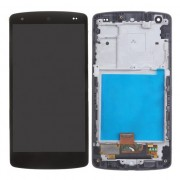 LCD Screen Digitizer Touch Assembly with Front Housing Frame for LG Google Nexus 5 D820