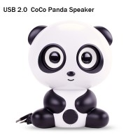 Stereo CoCo Panda Speaker for Computer Laptop LED TV