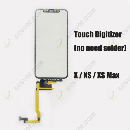 Long Cable Digitizer Touch Screen for iPhone X